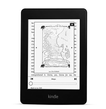 What's new in the new Kindle Paperwhite? Better lighting, a faster chip and one big Amazon logo