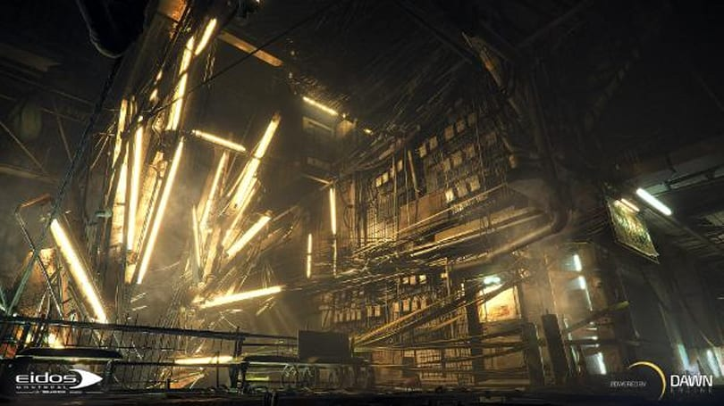Deus Ex Universe lights up with next-gen 'Dawn' engine