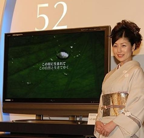 Sharp goes big and boastful with 52-, 46-, 42-inch Aquos LCDs