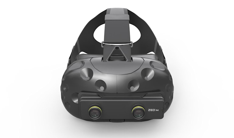 Give any VR headset mixed reality powers with this 3D camera