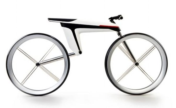 HMK 561 electric bike concept seats you on the battery, makes you significantly more attractive