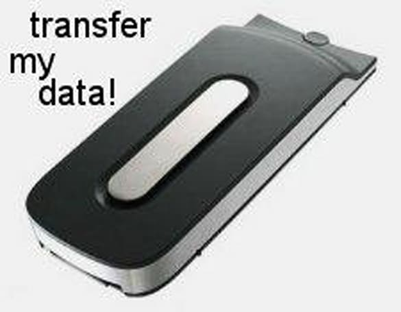 Rumor: Cable to transfer HDD data to Elite 360