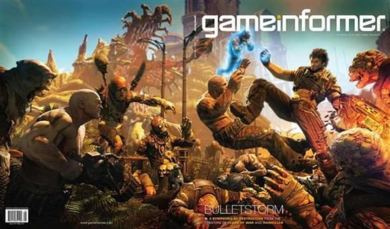 CliffyB: 'Two upcoming games' on Monday's Late Night; Us: It's totally Bulletstorm and Gears of War 3
