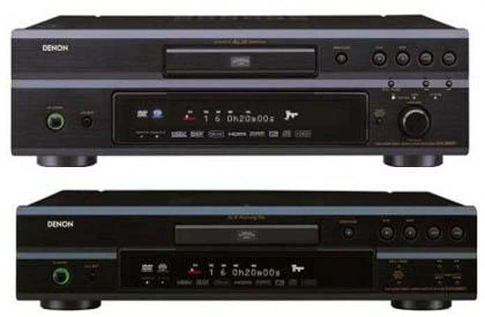 Denon's new 1080p upscaling DVD players
