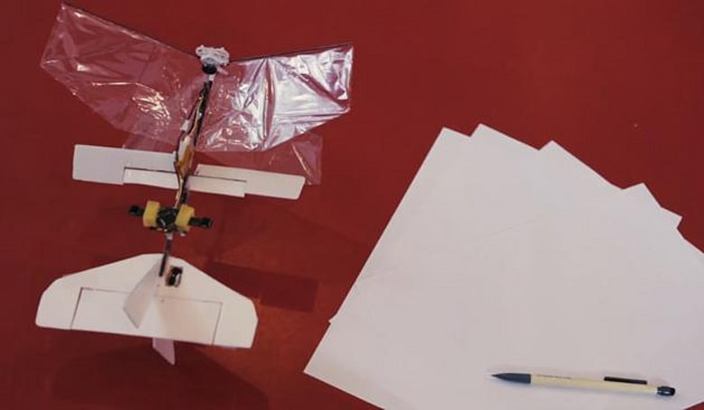 Small winged bot flies autonomously for nine minutes, still can't find a mate