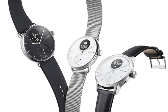 Withings' new ScanWatch is a classy heart-monitoring wearable