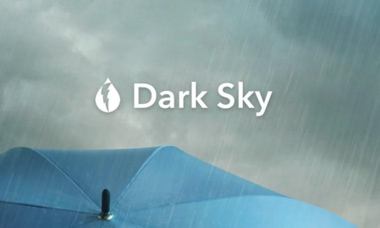 Apple buys Dark Sky weather app