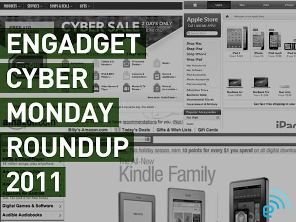 Engadget's Cyber Monday 2011 roundup
