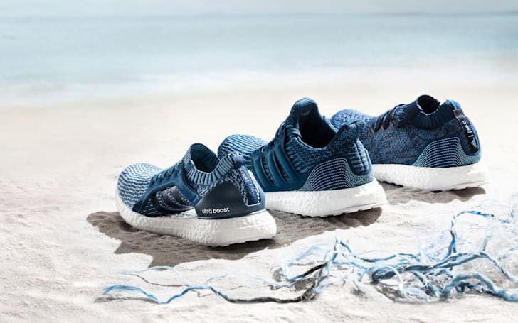 Adidas will sell more shoes partially made with ocean trash