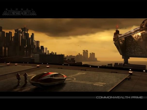 Global Agenda influences include City of Heroes and Team Fortress 2