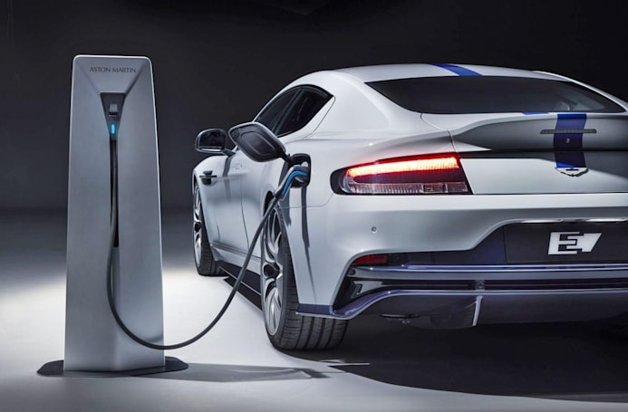Aston Martin's all-electric Rapide E is a 604HP leap into the future