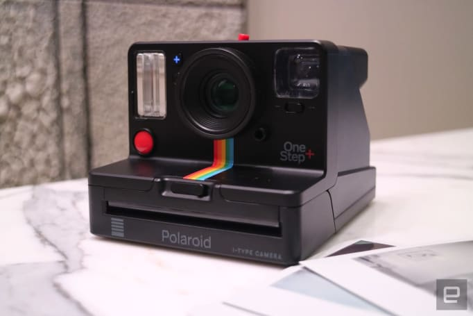 Polaroid's OneStep+ instant camera makes remote selfies possible