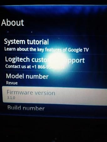 Logitech Revue Android 3.1 upgrade starts rolling out (Update: It's official)