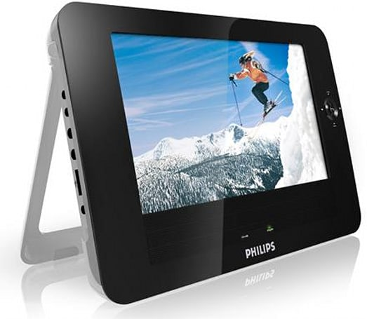 Philips PET830 and PET1030 media players