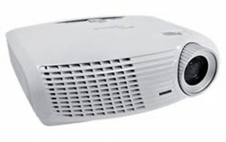 Optoma HD20 projector cracks the $1,000 barrier