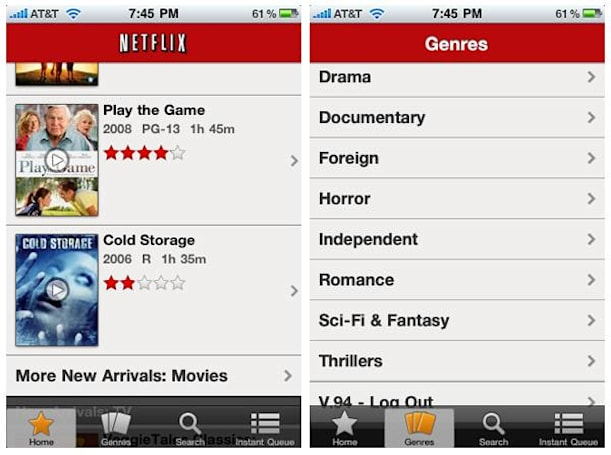Netflix for iPad hacked and running on iPhone (update: disabled)