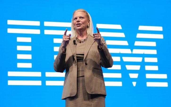 IBM CEO Virginia Rometty is retiring