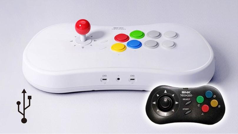 Neo Geo retro stick console includes 'King of Fighters,' 'Samurai Shodown'