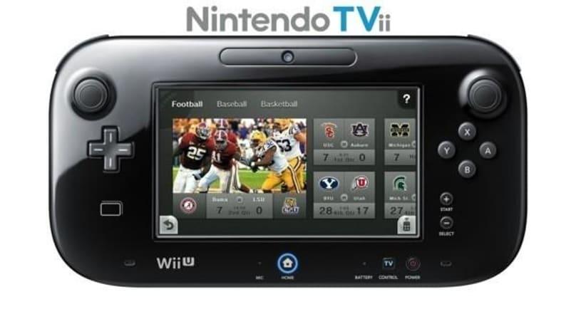Nintendo unveils 'Nintendo TVii' for Wii U (video)