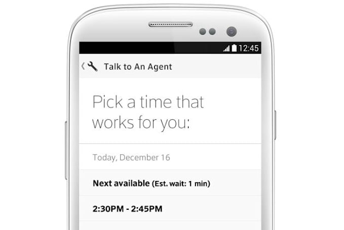 Comcast's new customer service fix: use the app to schedule a call