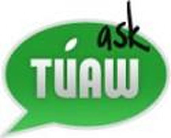 Ask TUAW: Simple spreadsheets, partitioning with Time Machine, iTunes with a NAS, and more