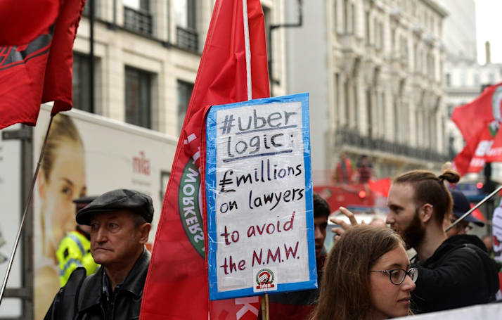 Appeal tribunal rules Uber drivers are definitely workers