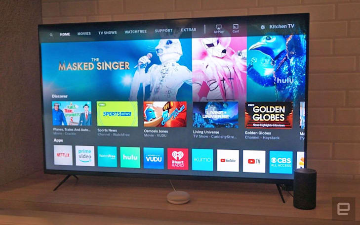 Sharp sues Vizio over display tech in 70-inch TVs