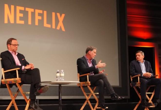 Netflix execs talk 'Ridiculous 6' popularity, censorship