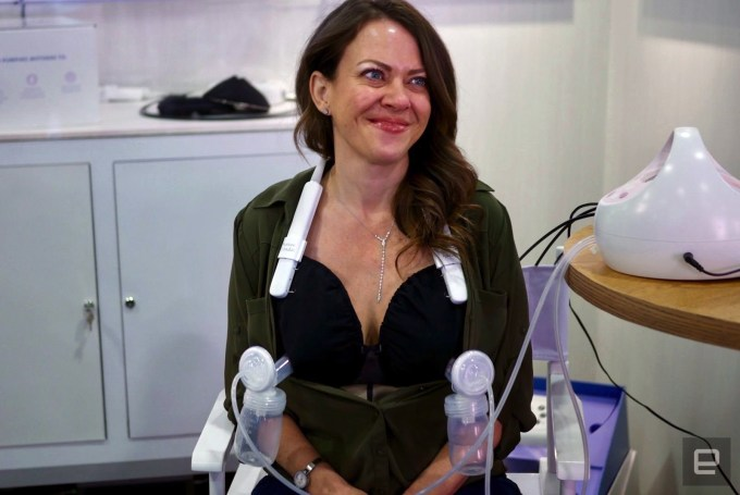 A woman pumped breast milk on the CES show floor. So what?
