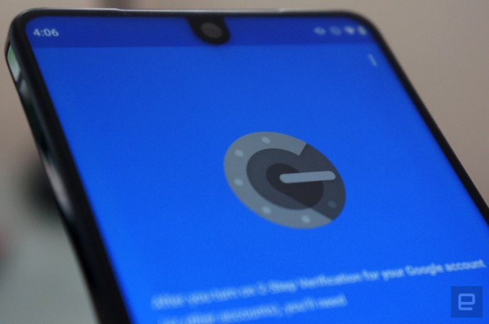Google Authenticator for Android can finally move accounts between devices