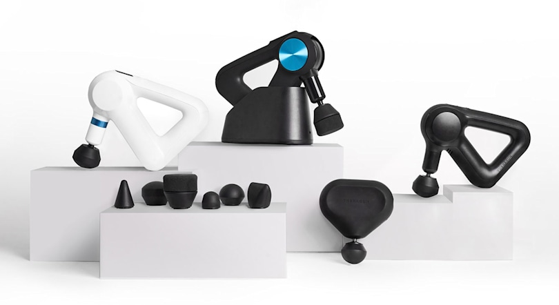 Theragun's new massage devices have Bluetooth and run quieter