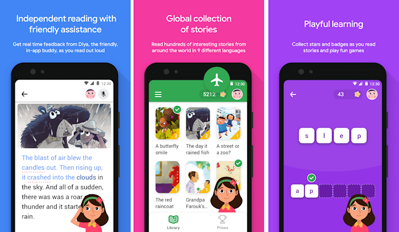 Google's learn-to-read app is now available in 180 countries