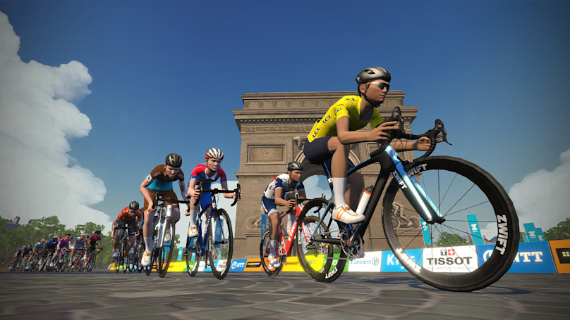 Professional cyclists will compete in a virtual Tour de France