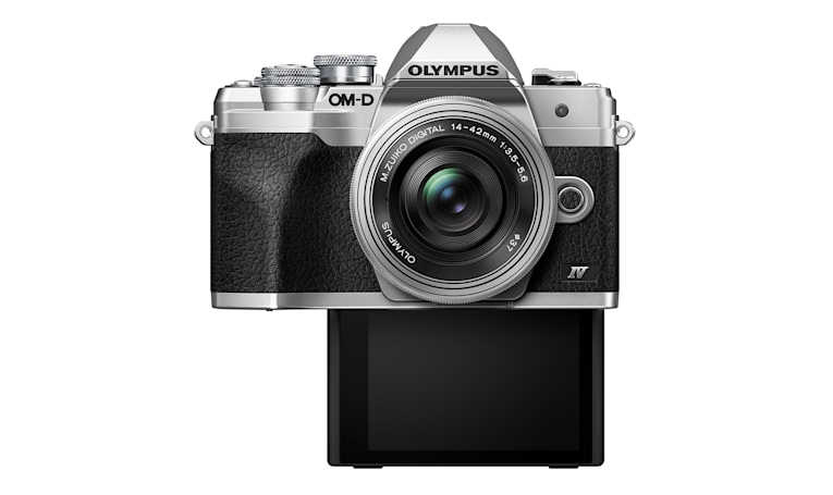 Olympus' $699 E-M10 IV has a higher-res sensor and flip-down selfie screen