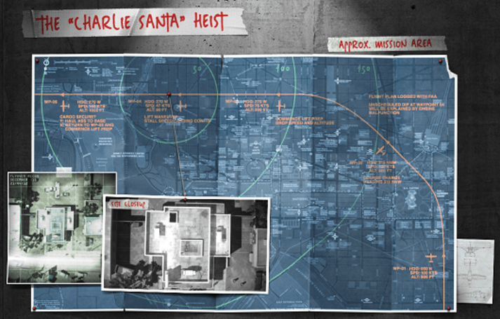 Payday 2 'Charlie Santa' Heist DLC drops in time for the holidays