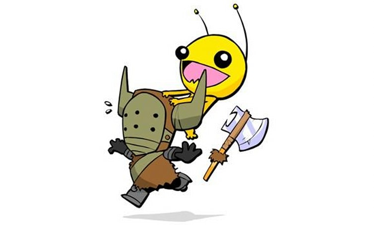 Alien Hominid will be in PSN Castle Crashers
