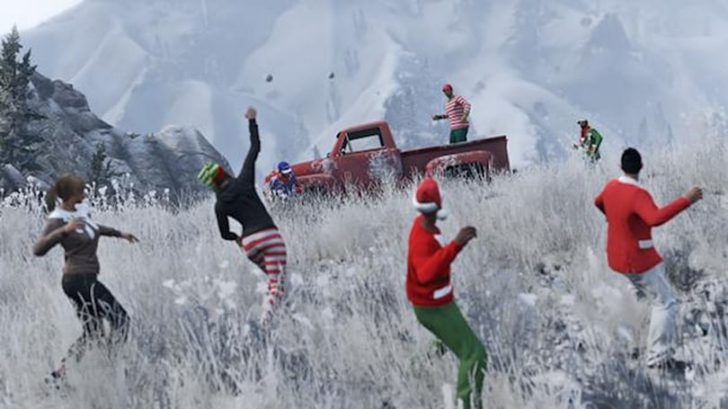 Rockstar extends GTA Online's Christmas gift window due to XBL, PSN outage