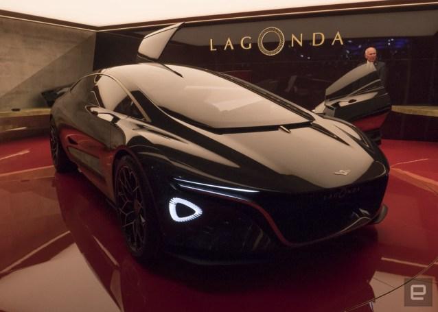 Aston Martin's luxury EV concept comes with a concierge