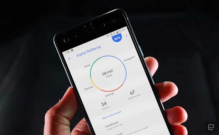 Android's Digital Wellbeing tools come to more phones