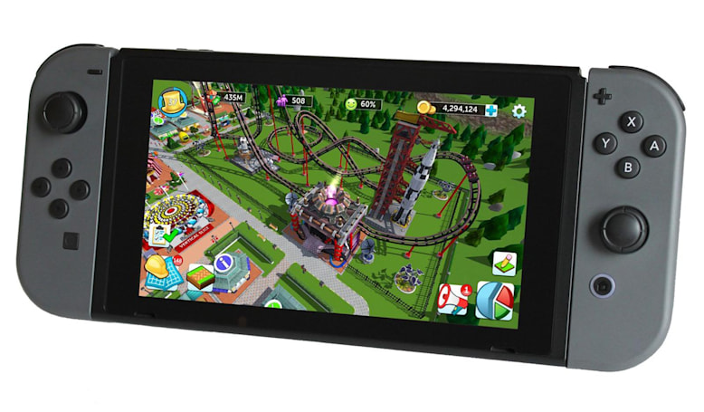 Atari wants your help to make 'RollerCoaster Tycoon' for Switch