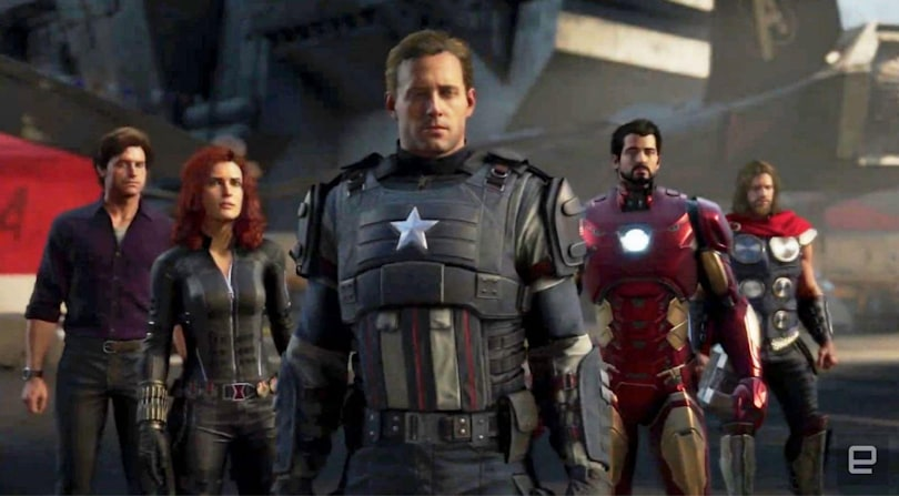 The Marvel's Avengers game arrives May 15th, 2020
