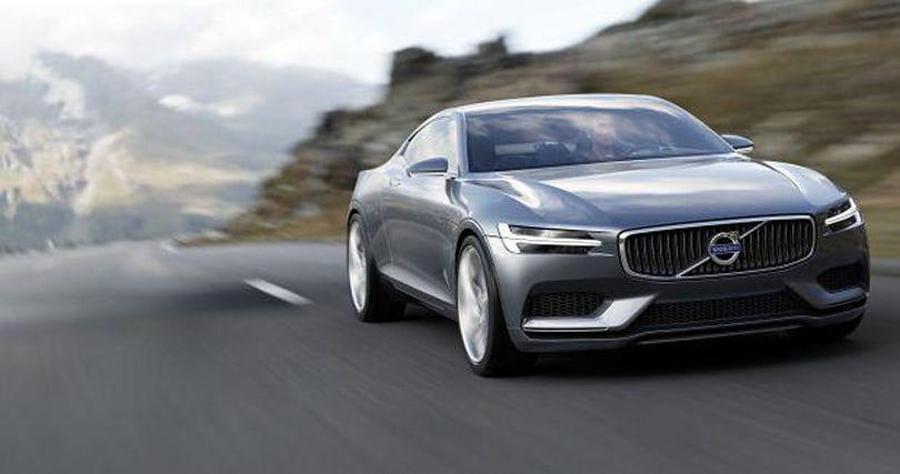 Volvo reveals the Concept Coupe, a two-seater 400HP plug-in hybrid