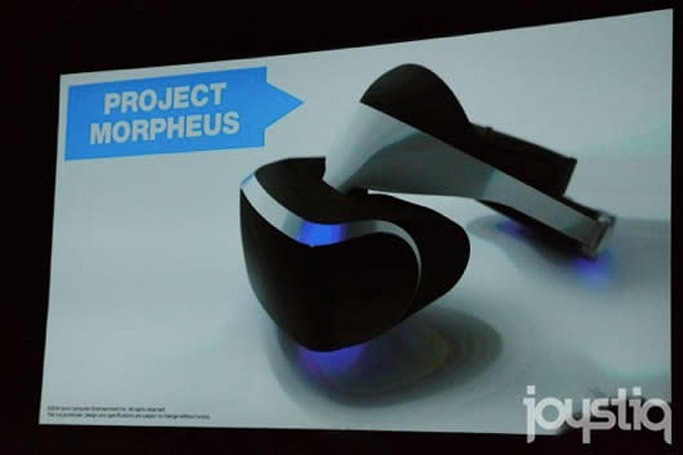 PlayStation VR announced, codenamed 'Project Morpheus'