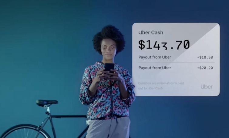 Uber will pay drivers and couriers after every trip