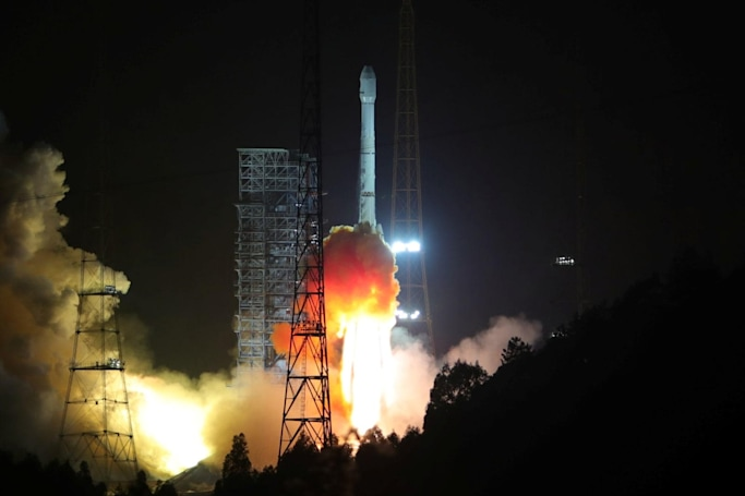 Chinese booster rocket nearly smashes into a small town