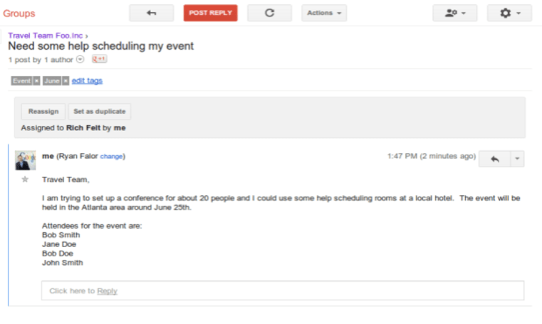 Google Groups' latest collaboration tools now available to all users