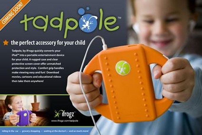 Follow-up on the iFrogz Tadpole iPod case for kids
