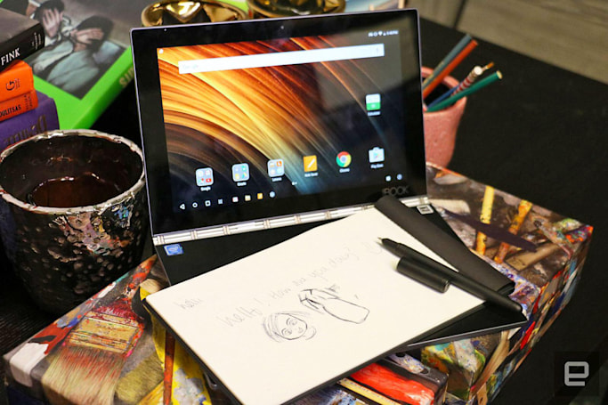 Lenovo's futuristic Yoga Book is a novelty item not worth buying yet