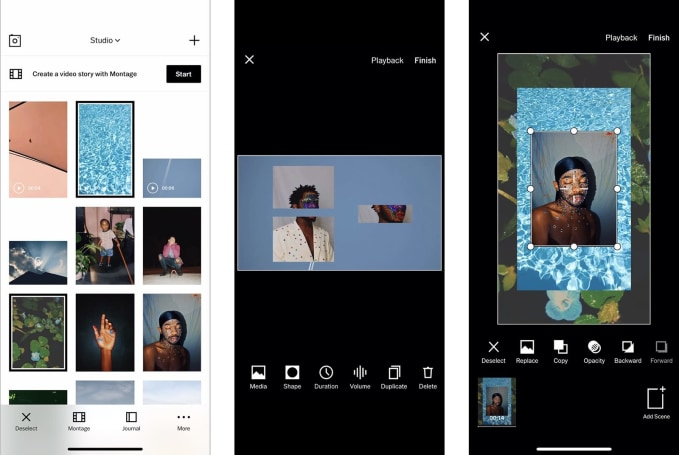 VSCO's new tool is built for moody video montages