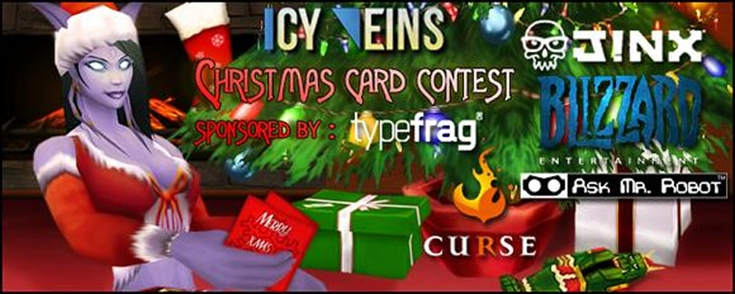 Icy Veins opens final voting for annual Christmas Card Contest